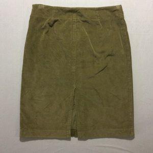 J.Crew Corduroy Skirt Size 10